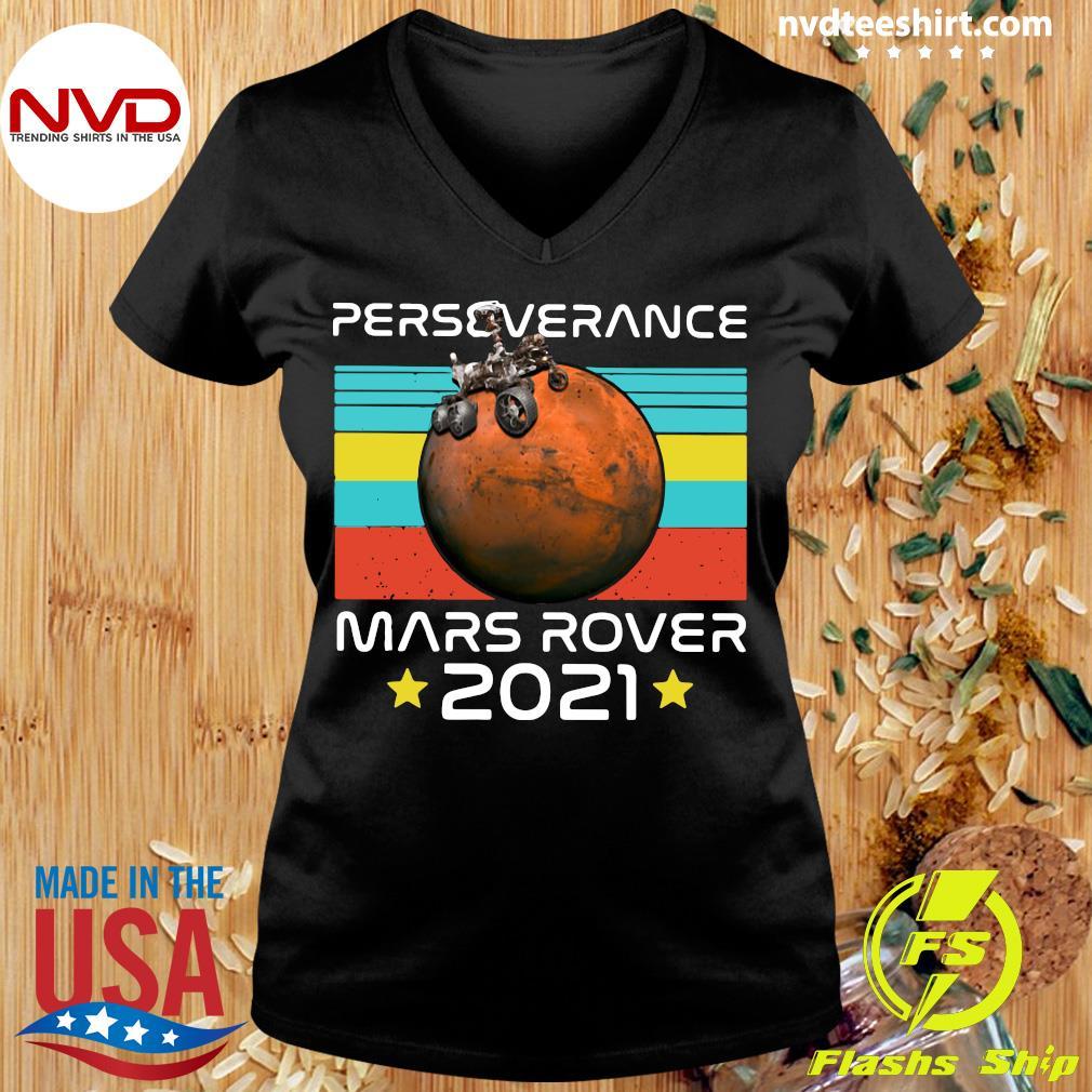 Funny Nasa Perseverance Mars Rover 2021 T-s Ladies tee