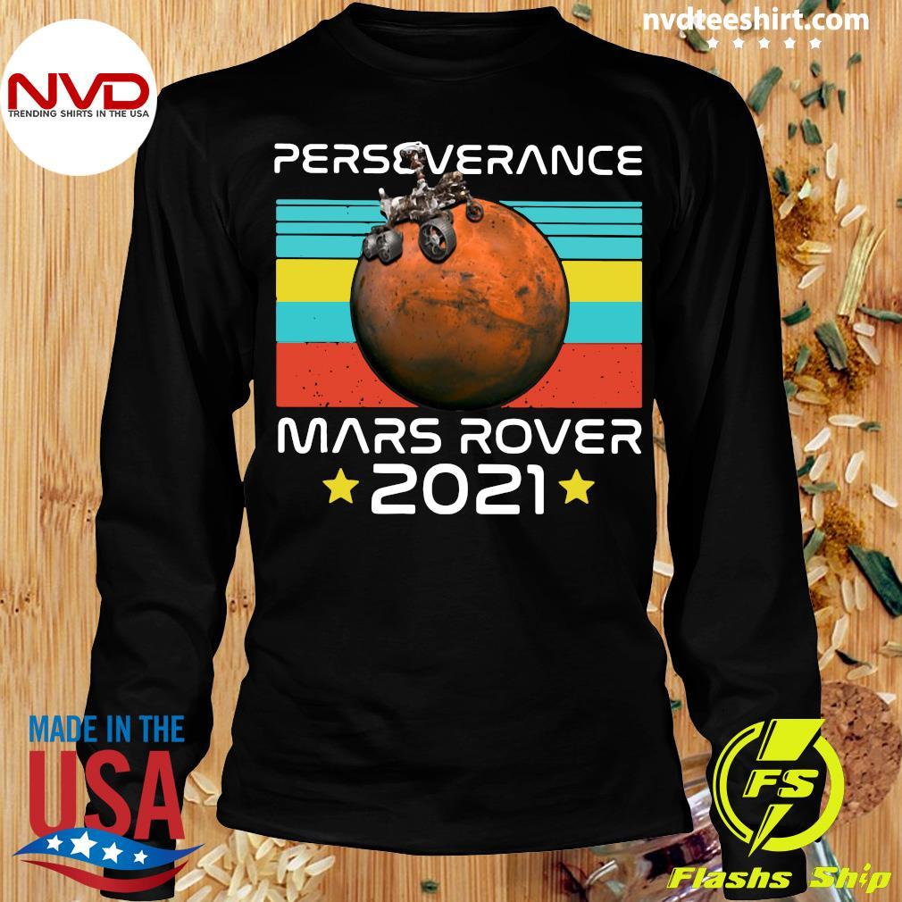 Funny Nasa Perseverance Mars Rover 2021 T-s Longsleeve