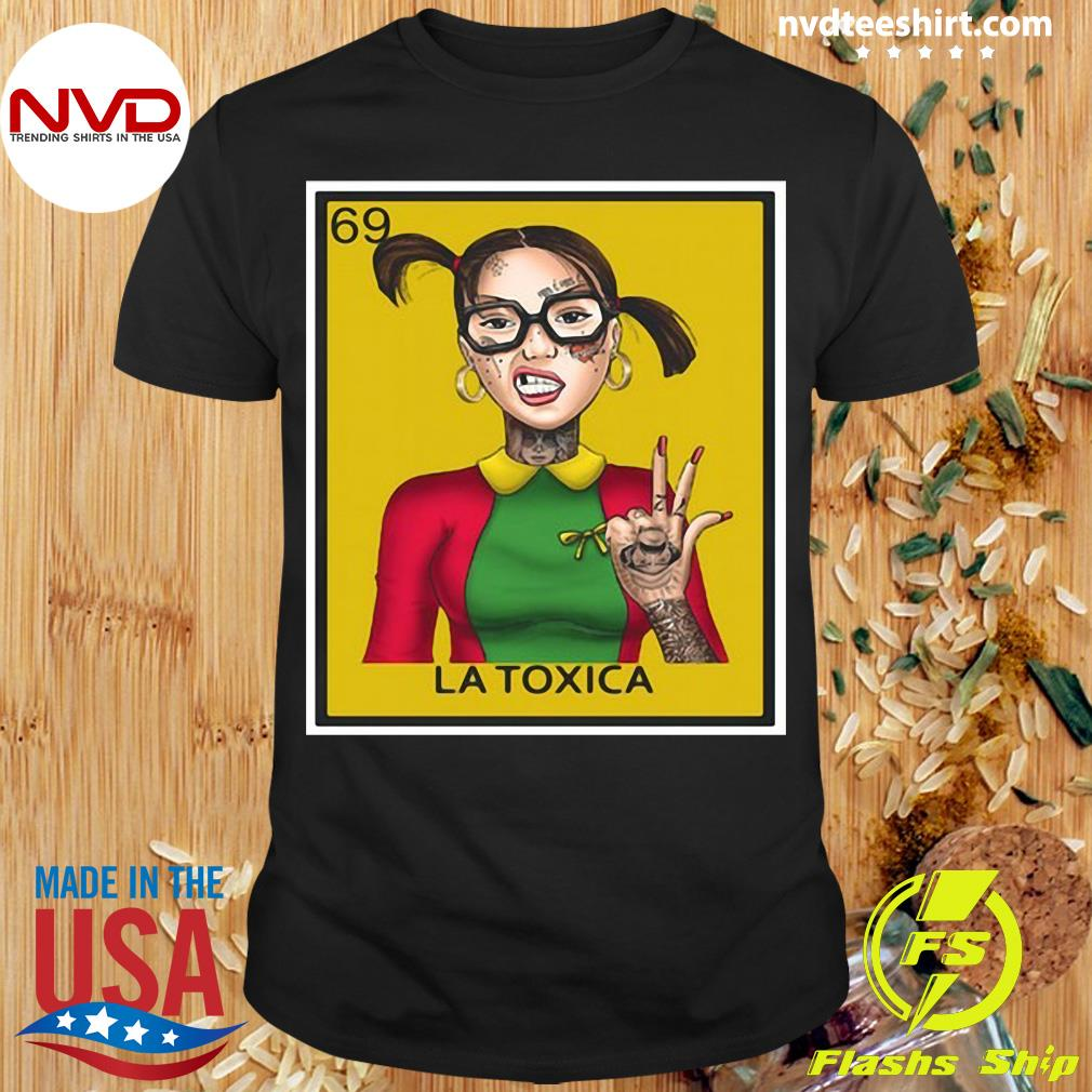 Official 69 La Toxica Loteria T-shirt
