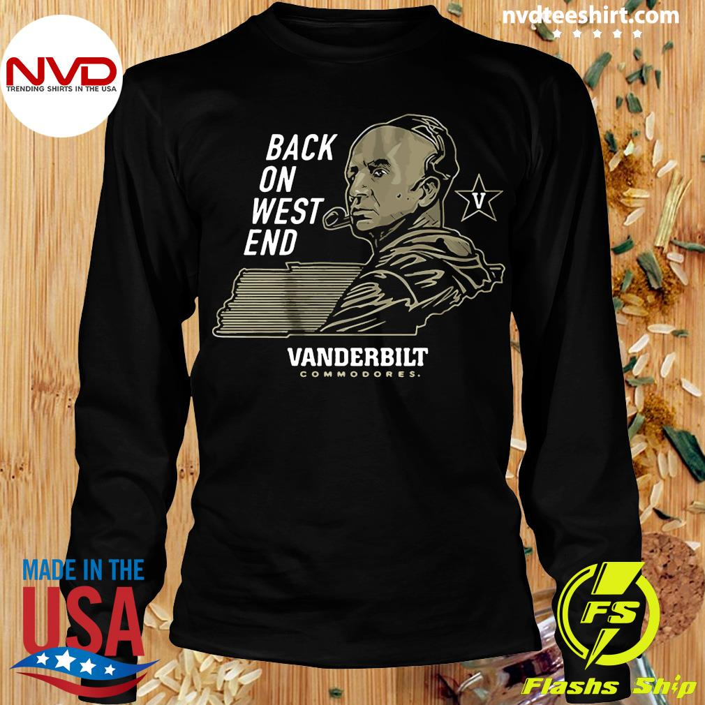 Official Back On West End Vanderbilt Commodores T-s Longsleeve