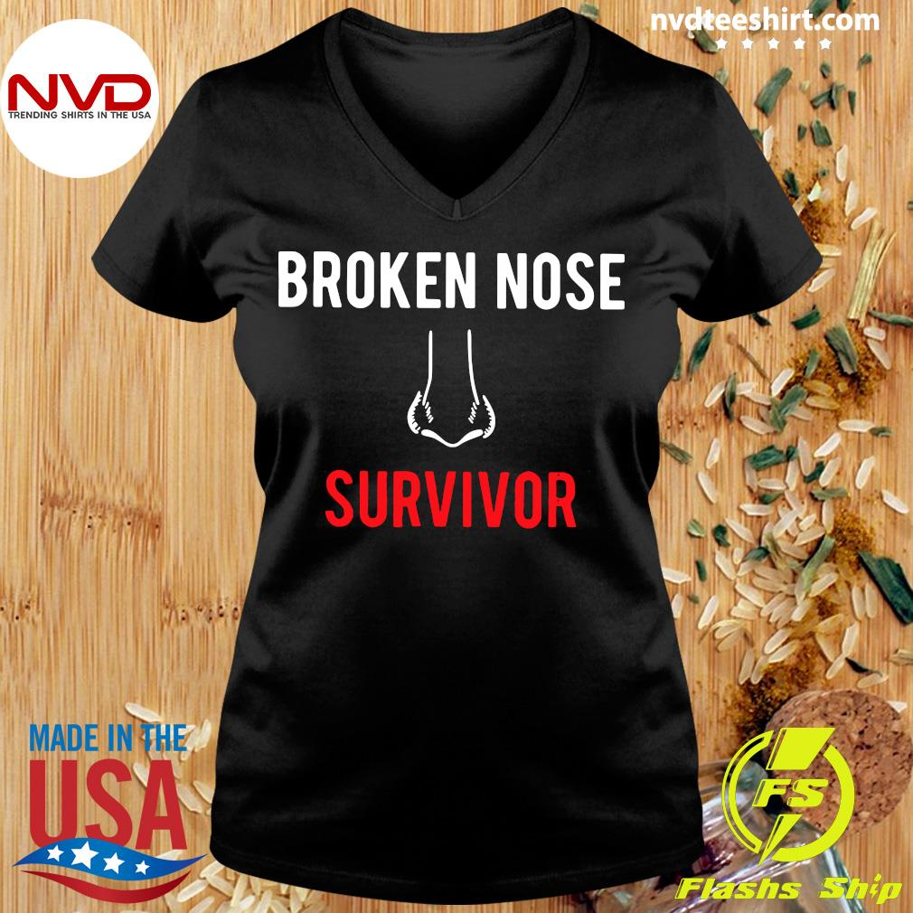 Official Broken Nose Survivor T-s Ladies tee
