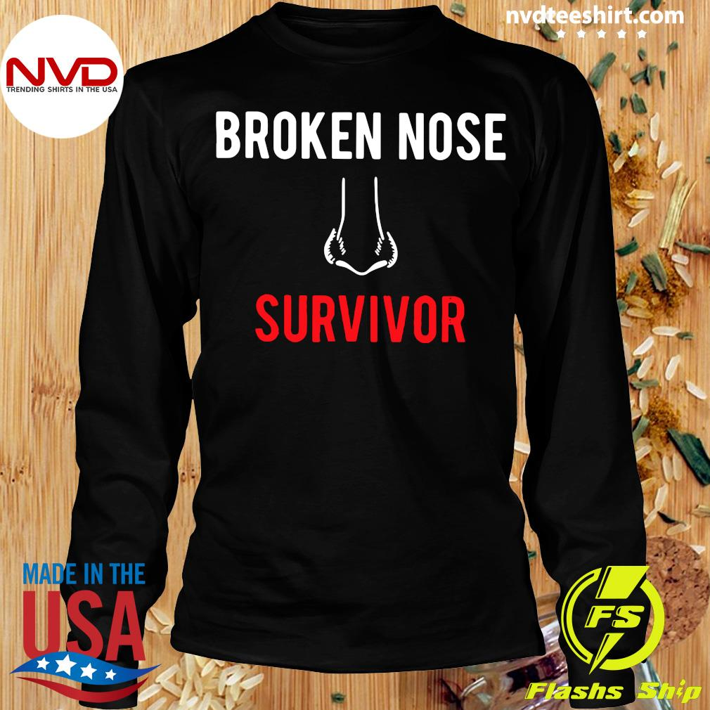 Official Broken Nose Survivor T-s Longsleeve