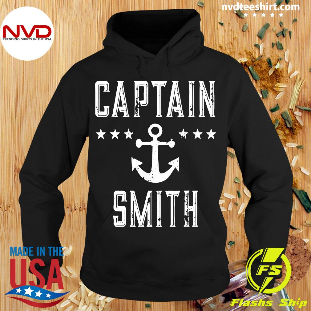 Official Captain Smith Personalized Boating Lover Gift Vintage T-s Hoodie