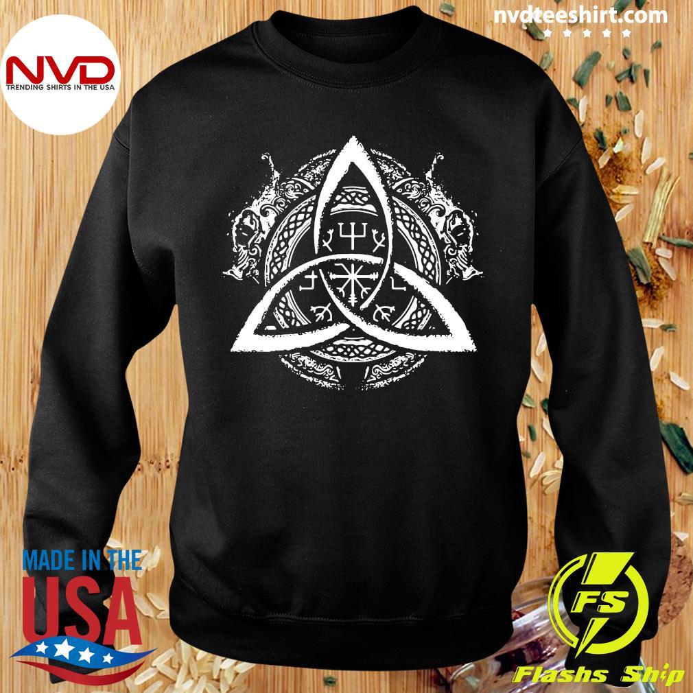Official Celtic Knot Design Celtic Triskele T-s Sweater