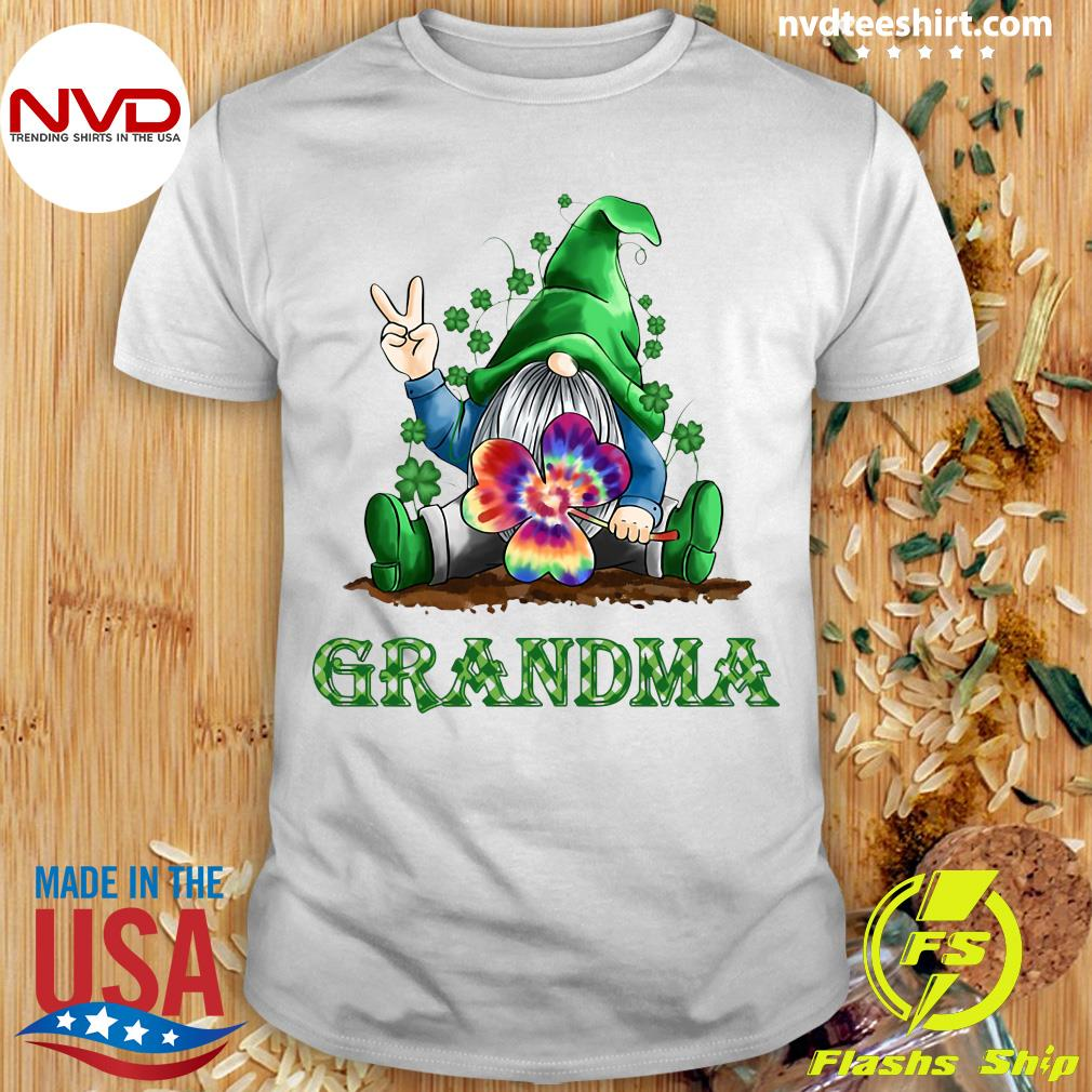 Official Grandma Patrick's Day Grandma T-shirt
