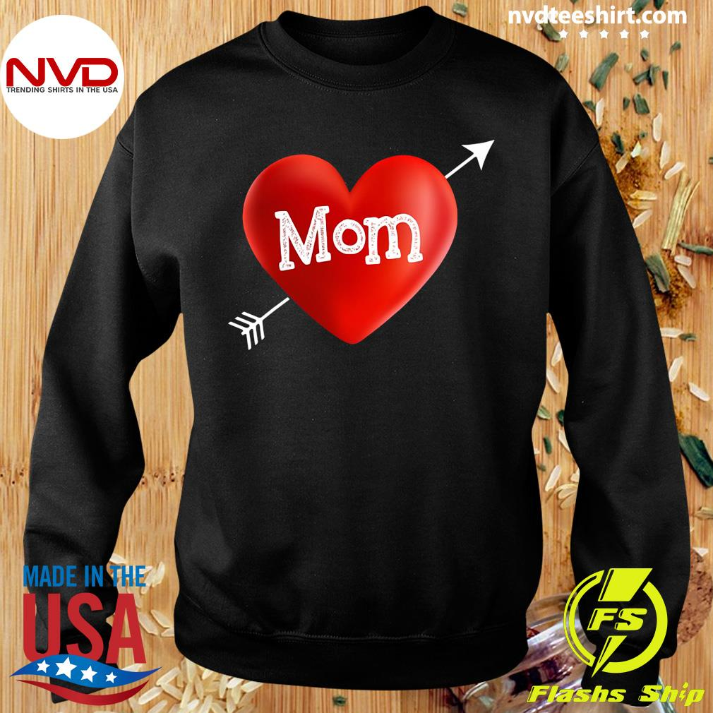 Official I Love My Mom Is My Valentine Day Heart Mother's Day Gift T-s Sweater