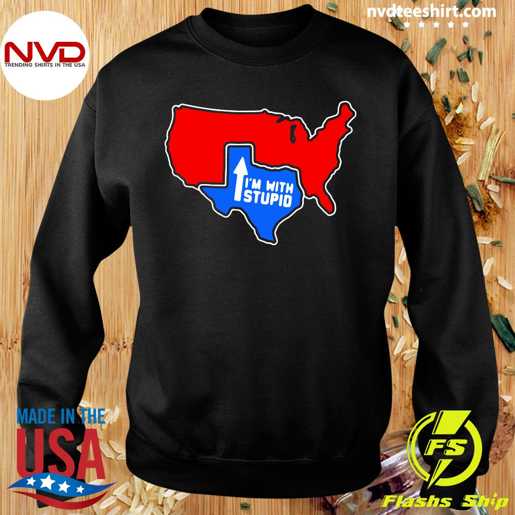 Official I'm With Stupid Texas T-s Sweater