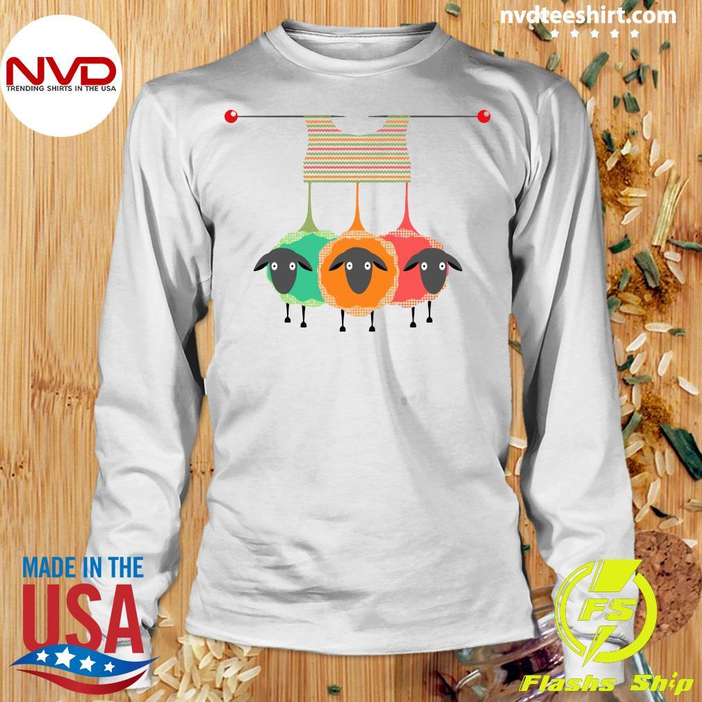 Official Knitting Knitters Yarn Gift Idea T-s Longsleeve