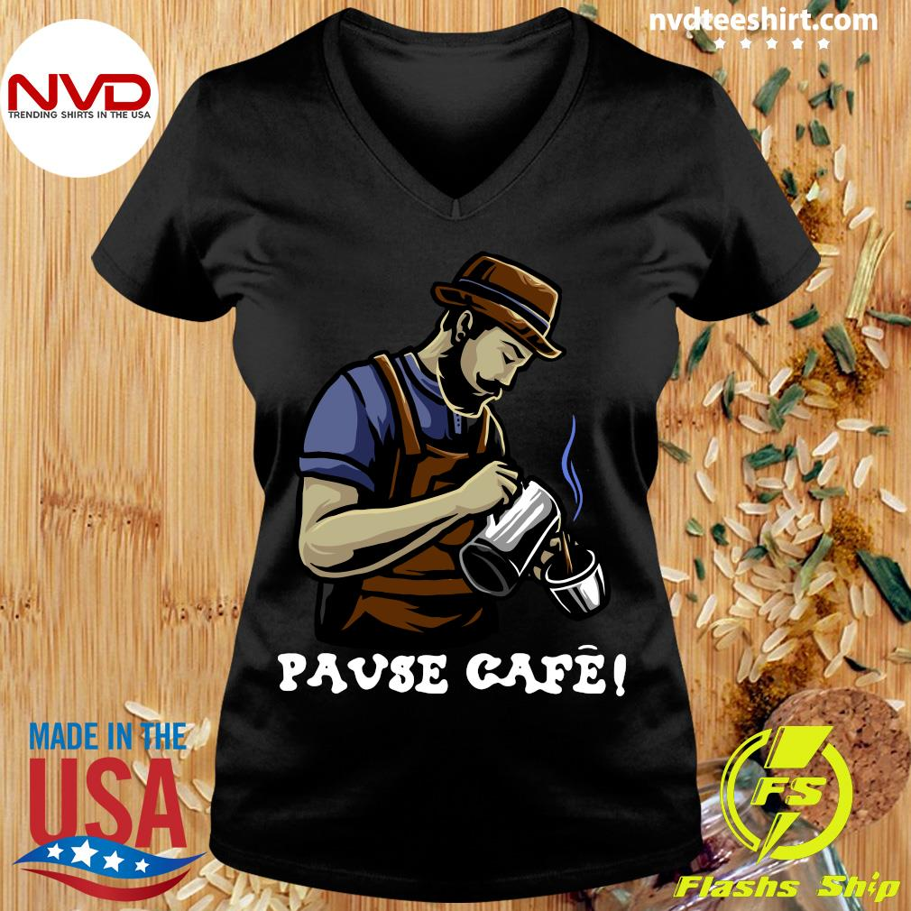 Official Pause Cafe The Bartender T-s Ladies tee