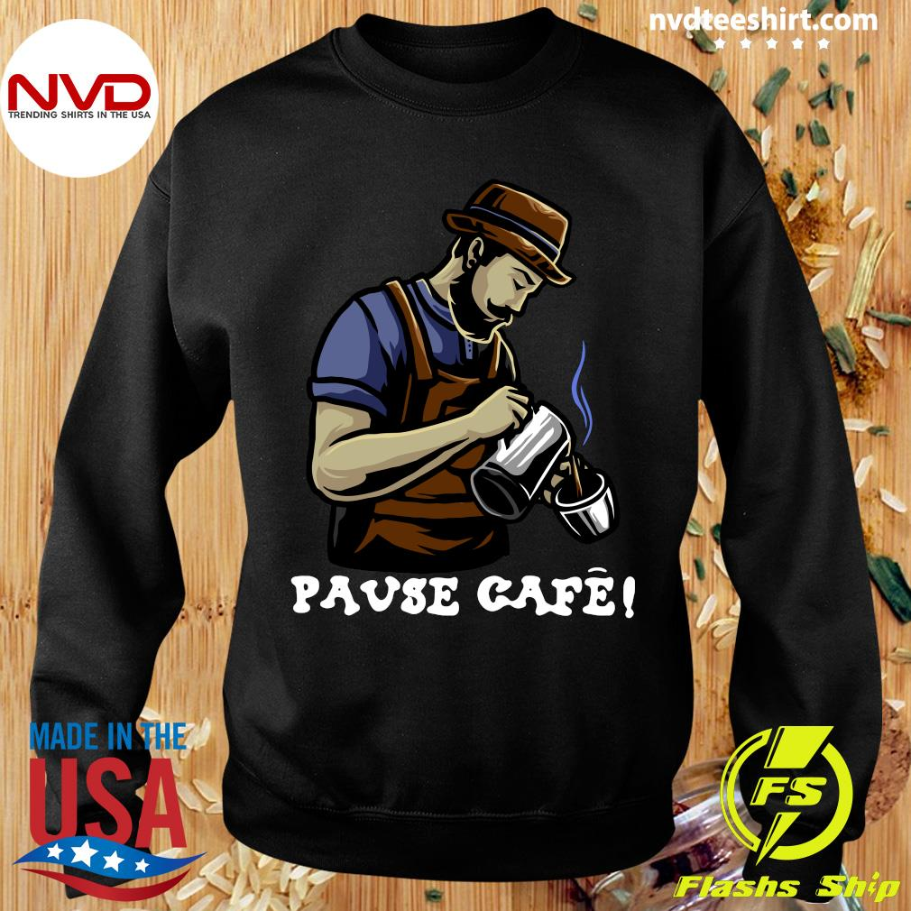 Official Pause Cafe The Bartender T-s Sweater