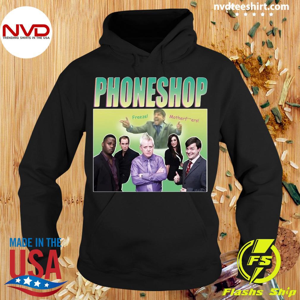 Official Phoneshop Freeze Mother T-s Hoodie