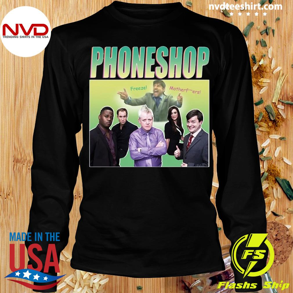 Official Phoneshop Freeze Mother T-s Longsleeve