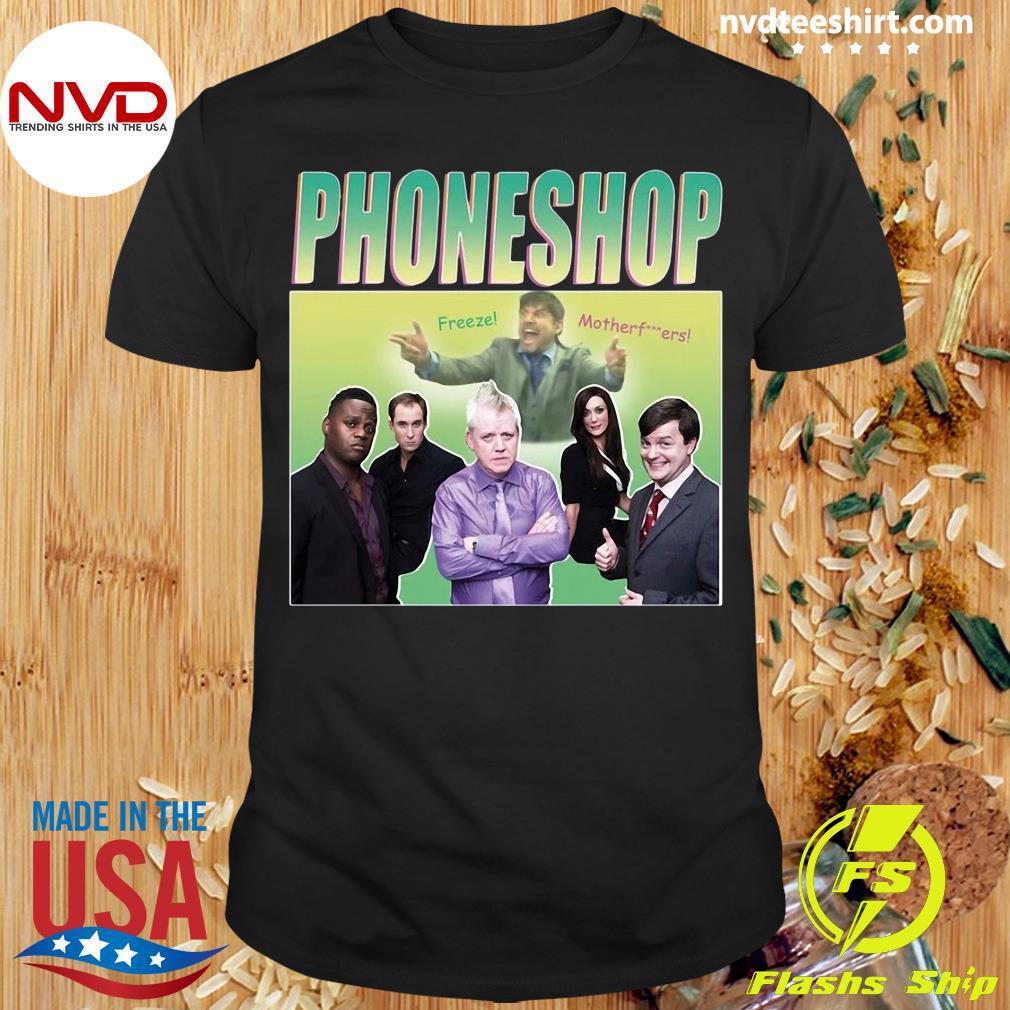 Official Phoneshop Freeze Mother T-shirt