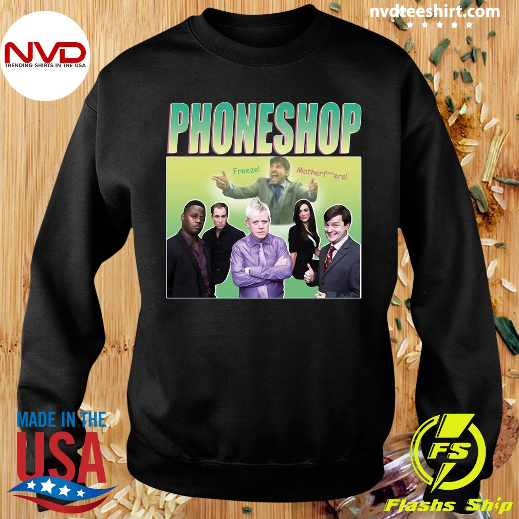 Official Phoneshop Freeze Mother T-s Sweater