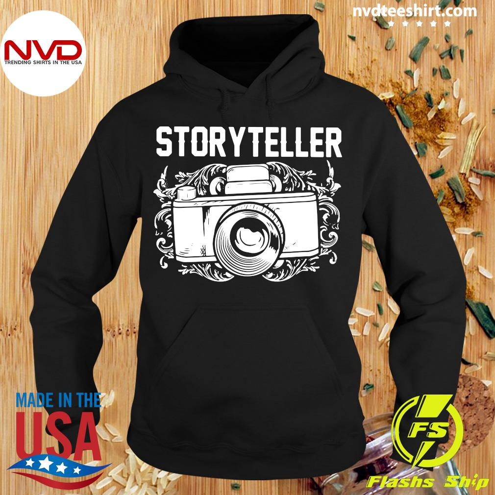 Official Photographer Storyteller Camera T-s Hoodie