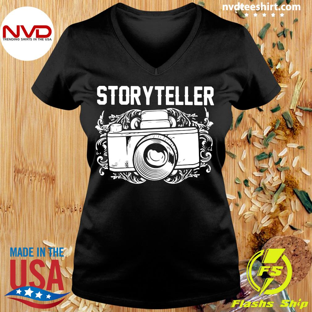 Official Photographer Storyteller Camera T-s Ladies tee