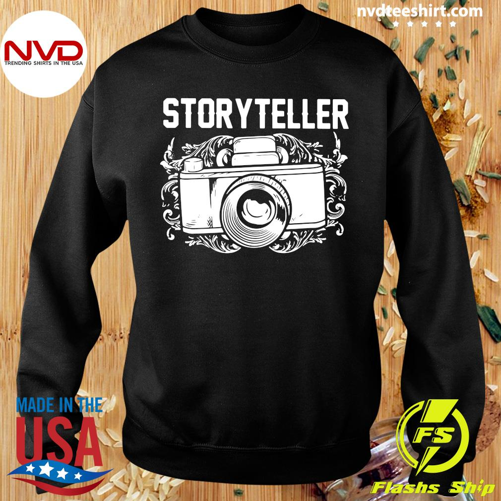 Official Photographer Storyteller Camera T-s Sweater