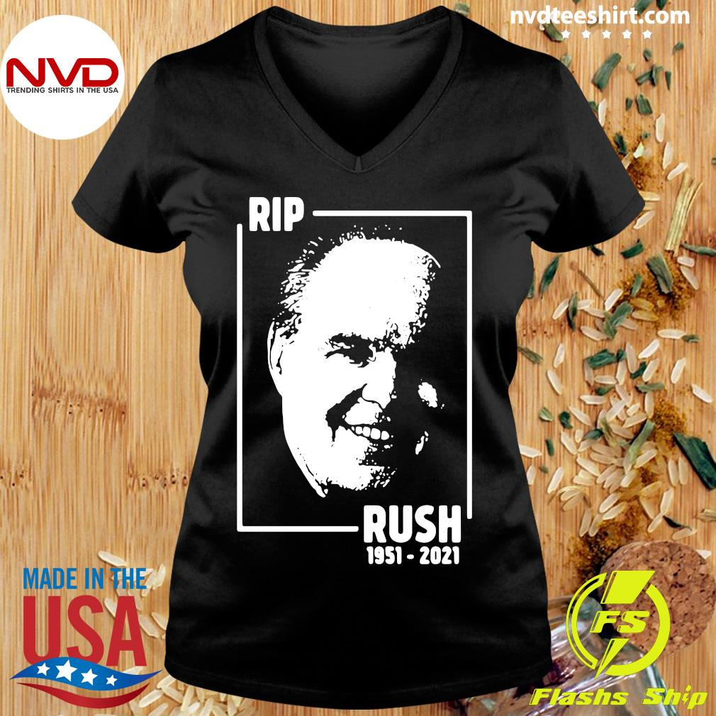 Official Rip Rush Limbaugh 1951 2021 T-s Ladies tee