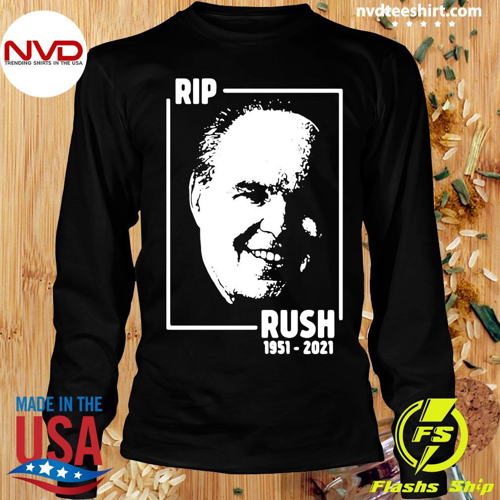 Official Rip Rush Limbaugh 1951 2021 T-s Longsleeve