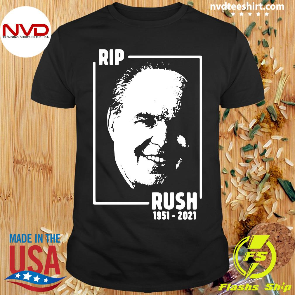 Official Rip Rush Limbaugh 1951 2021 T-shirt