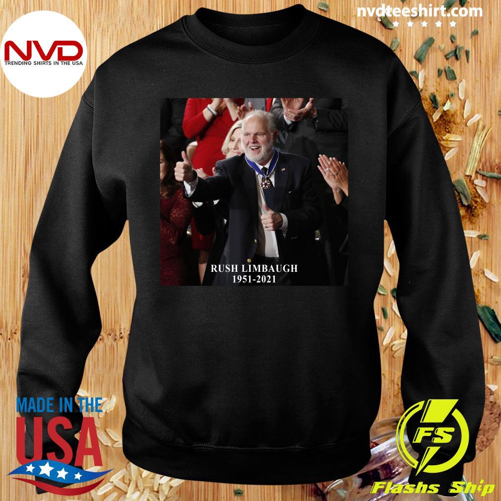 Official Rush Limbaugh Legend 1951 2021 Vintage T-s Sweater