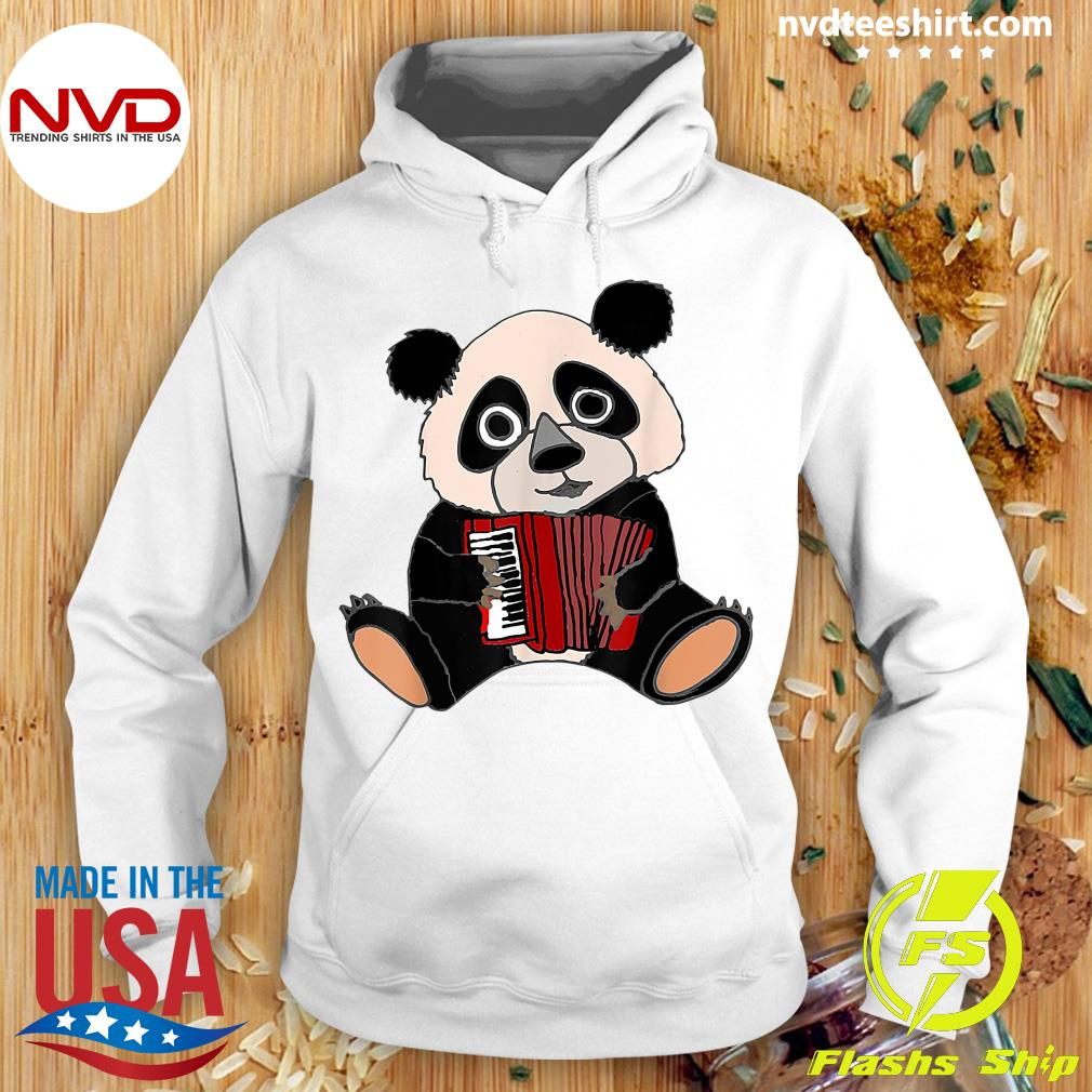 Official Smilemoreteesa Funny Panda Bear Playing Accordion T-s Hoodie