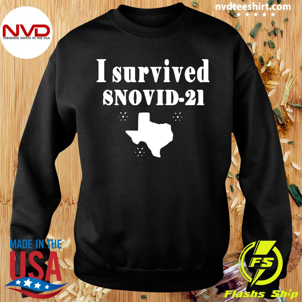 Official Texas I Survived Snovid 2021 T-s Sweater