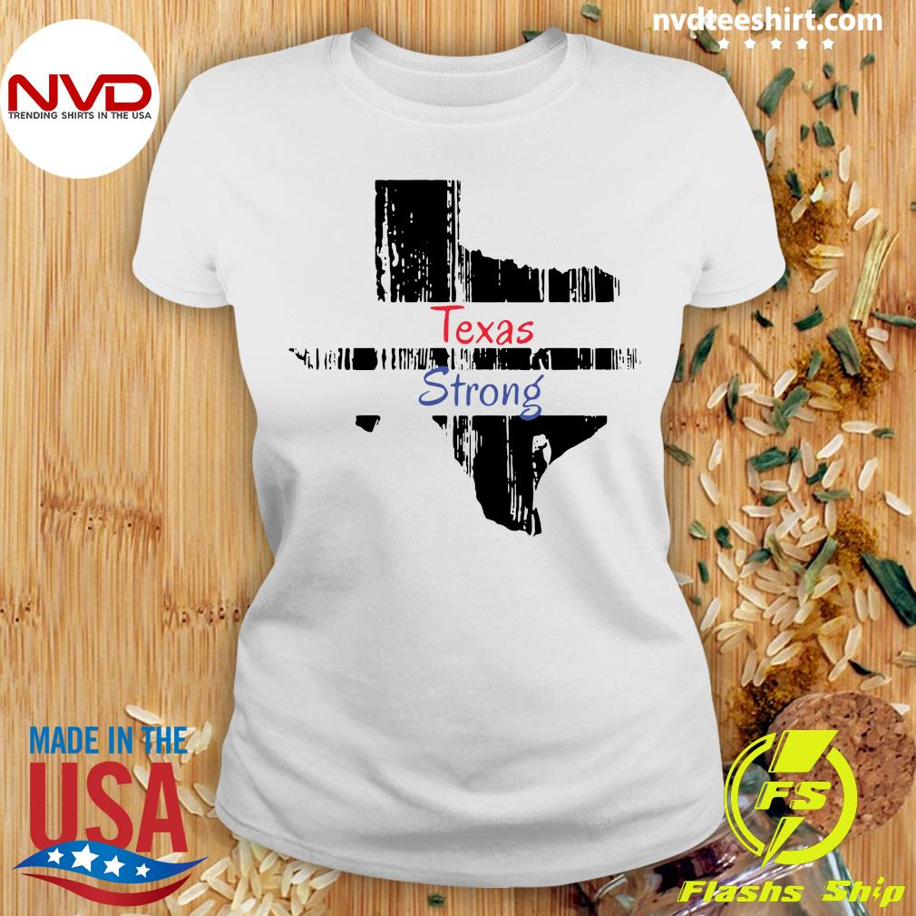 Official Texas Strong Survived Covvid 2021 T-s Ladies tee