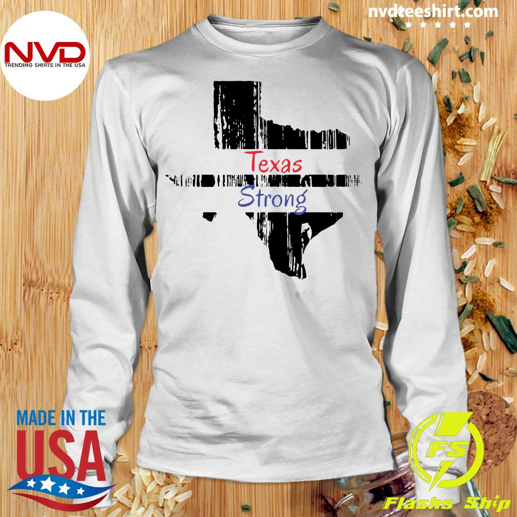 Official Texas Strong Survived Covvid 2021 T-s Longsleeve