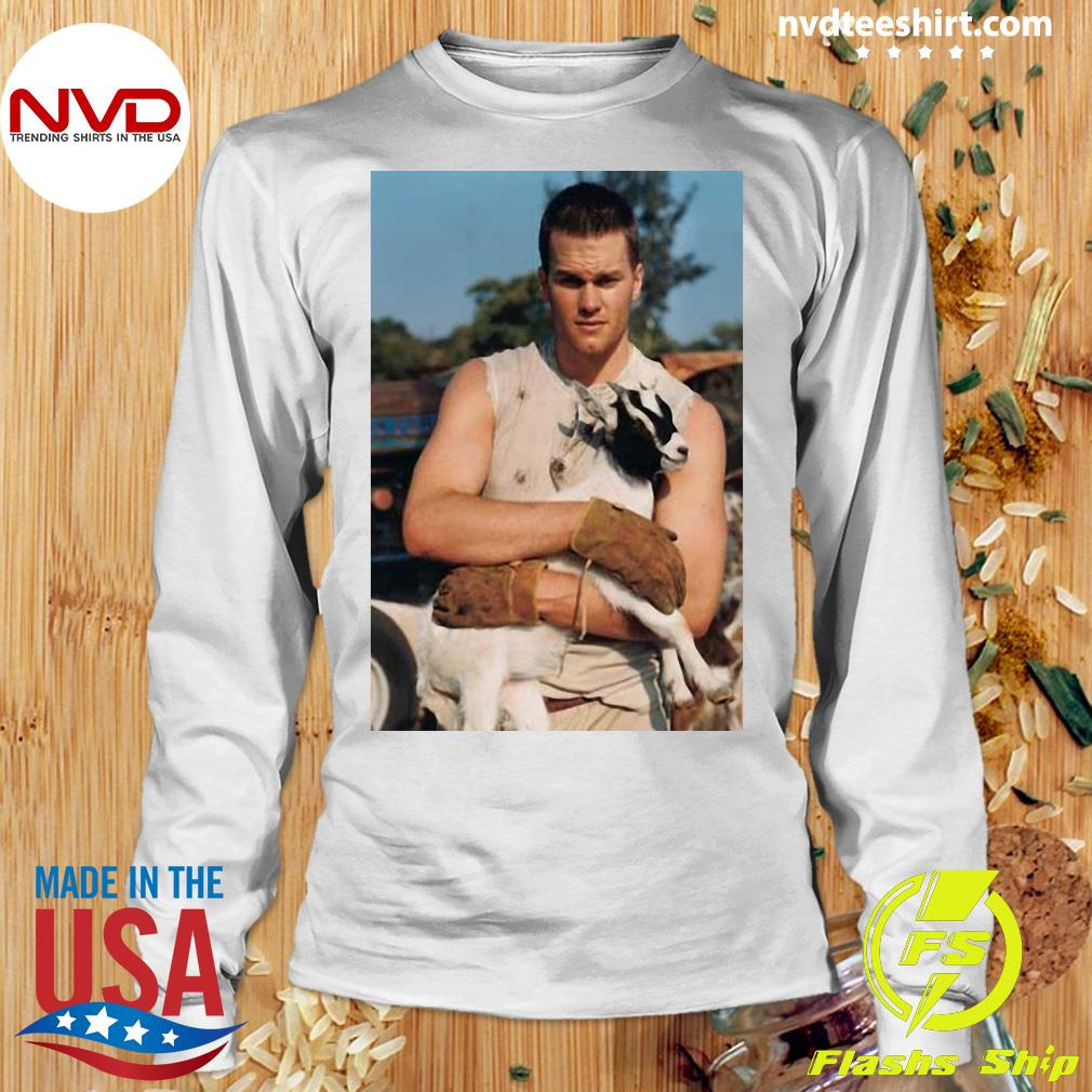 Official Tom Brady Goat T-s Longsleeve