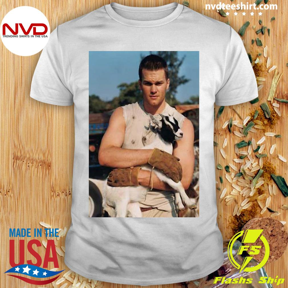 Official Tom Brady Goat T-shirt