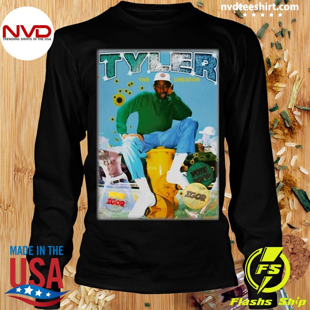 Official Tyler The Creator Bootleg Rap T-s Longsleeve