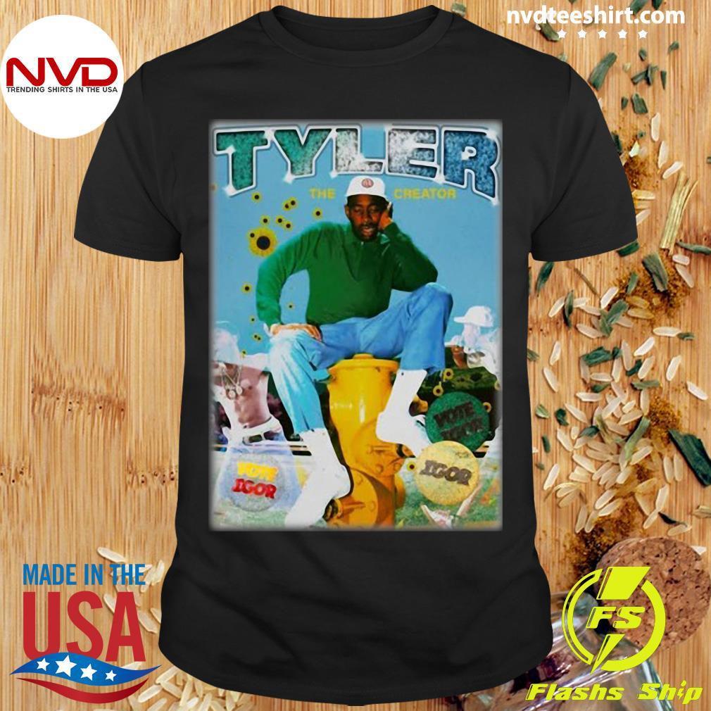 Official Tyler The Creator Bootleg Rap T-shirt