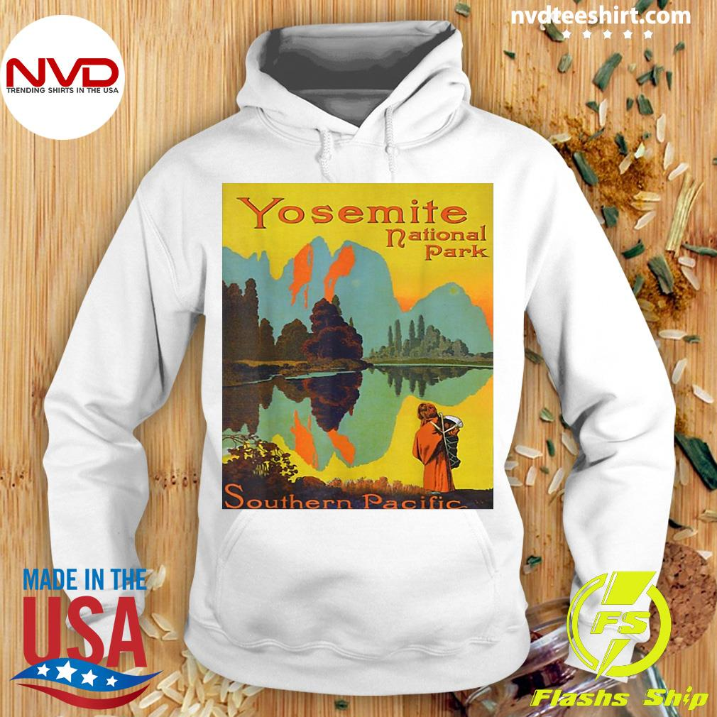 Official Yosemite National Park Southern Pacific Hiking T-s Hoodie