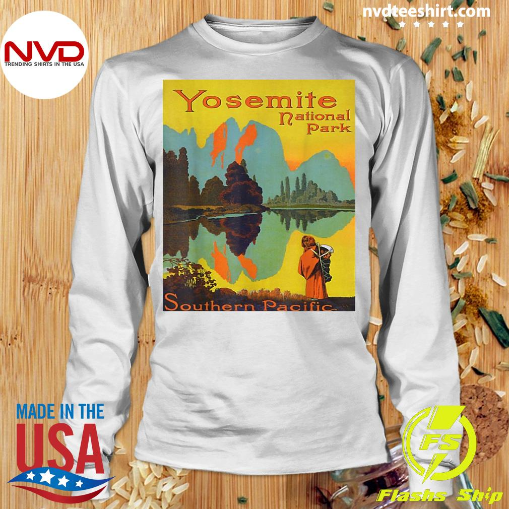 Official Yosemite National Park Southern Pacific Hiking T-s Longsleeve