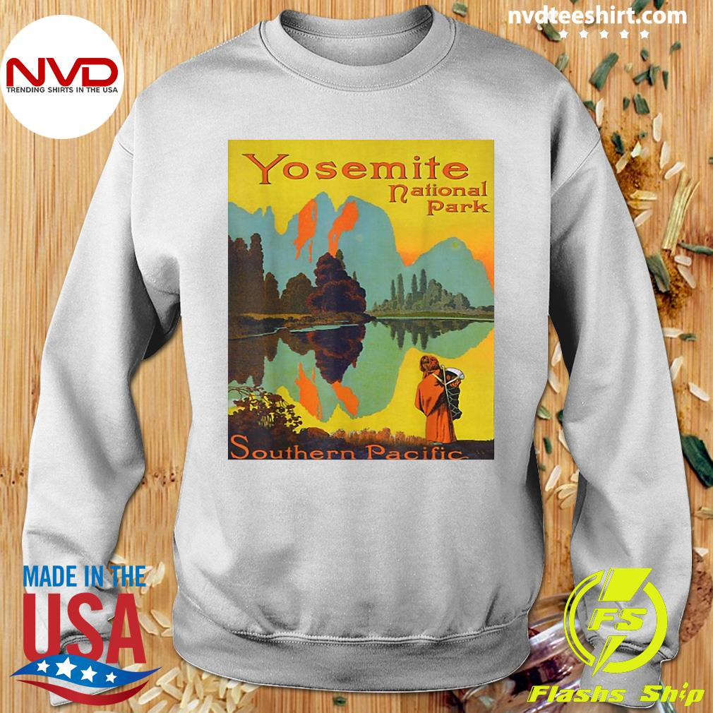 Official Yosemite National Park Southern Pacific Hiking T-s Sweater