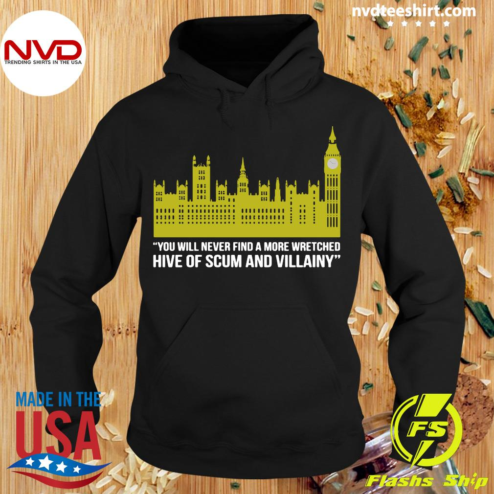 Official You Will Never Find A More Wretched Hive Of Scum And Villainy T-s Hoodie