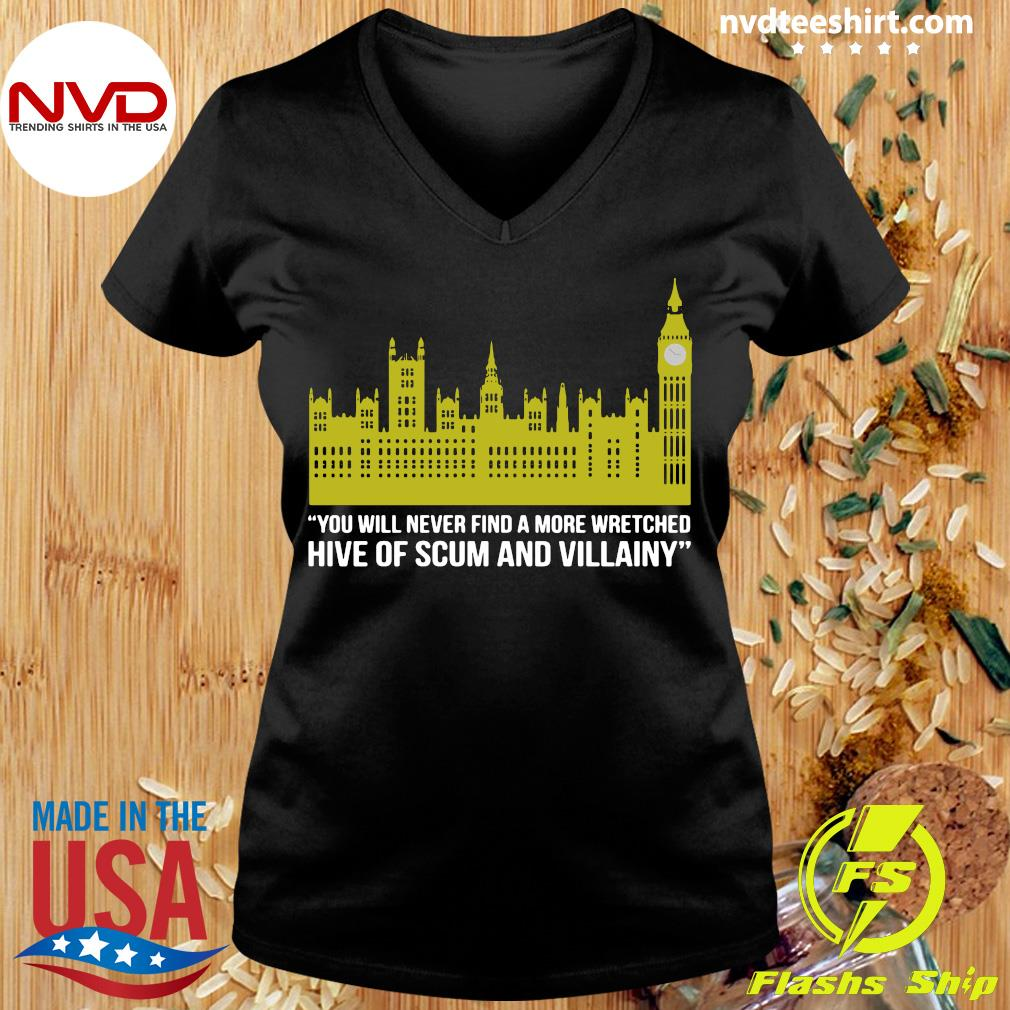 Official You Will Never Find A More Wretched Hive Of Scum And Villainy T-s Ladies tee