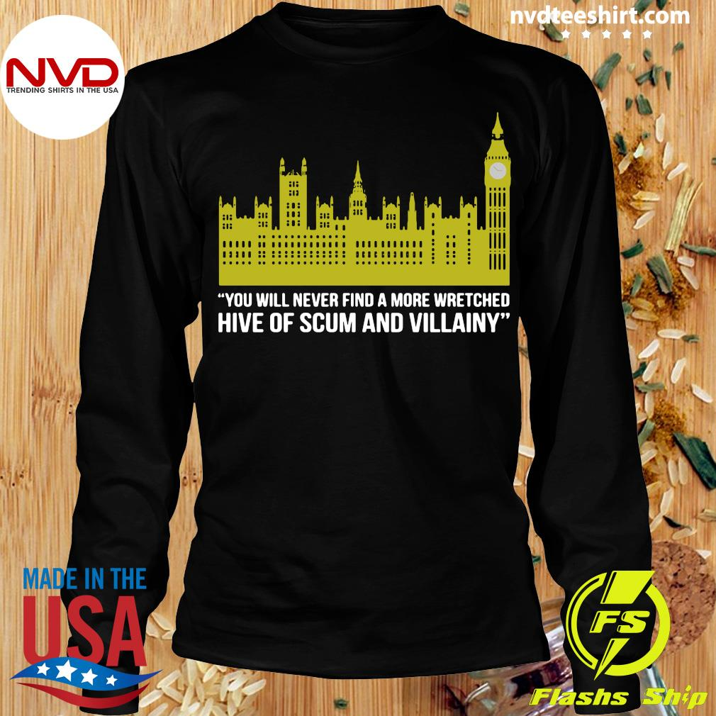 Official You Will Never Find A More Wretched Hive Of Scum And Villainy T-s Longsleeve