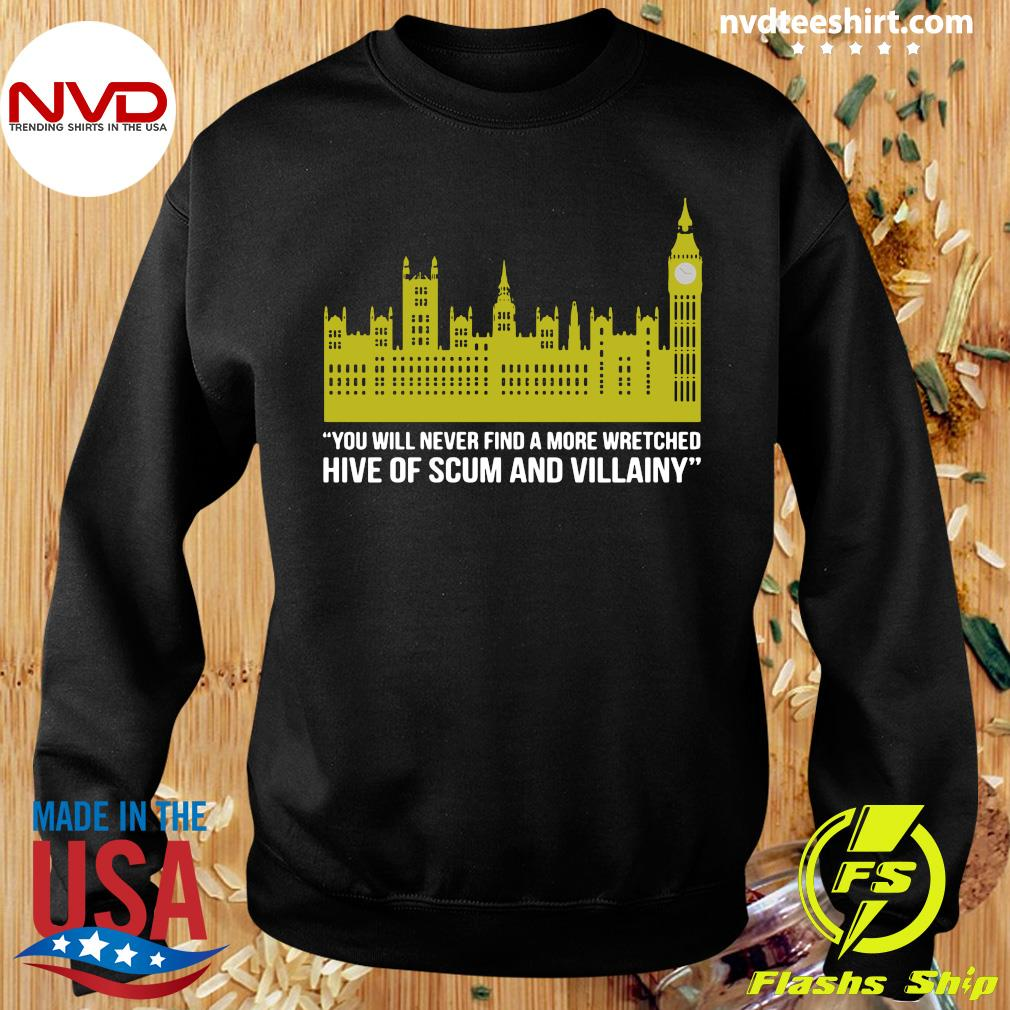 Official You Will Never Find A More Wretched Hive Of Scum And Villainy T-s Sweater