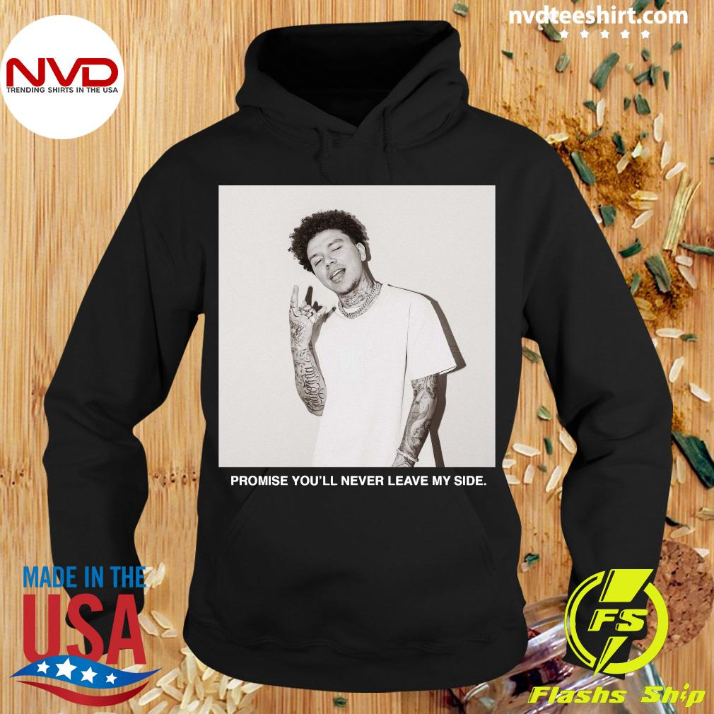 Official Yours Truly Clothing Merch Never Leave T-s Hoodie