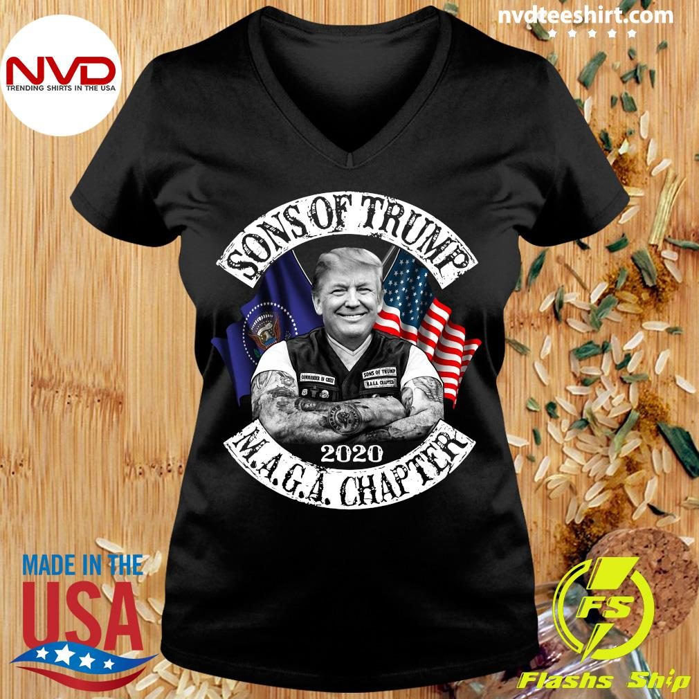 Funny Donald Trump Sons Trump Maga Chapter 2021 T-s Ladies tee
