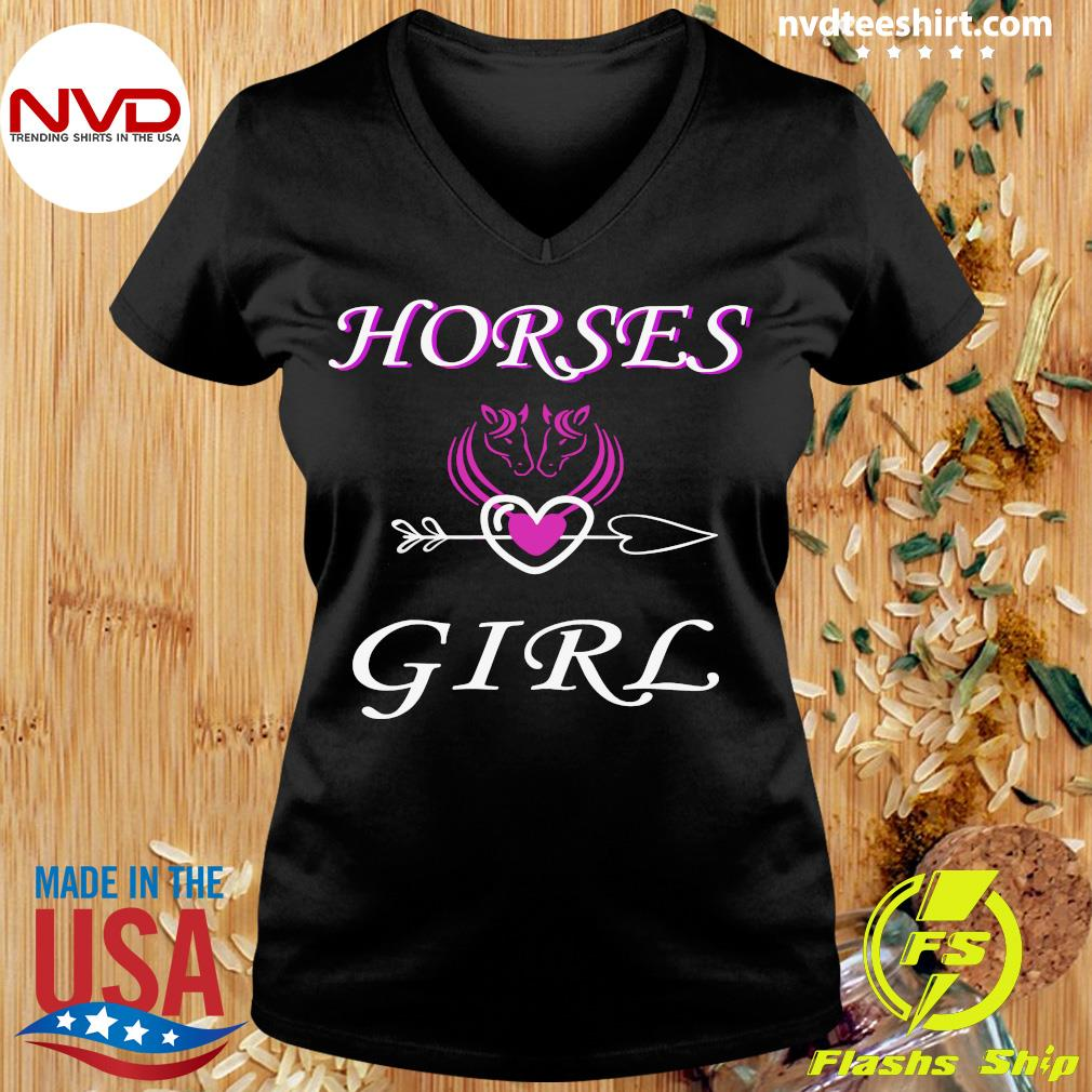 Funny Horses Love Girl Riding Cowgirl Ranch Love My Horseback T-s Ladies tee