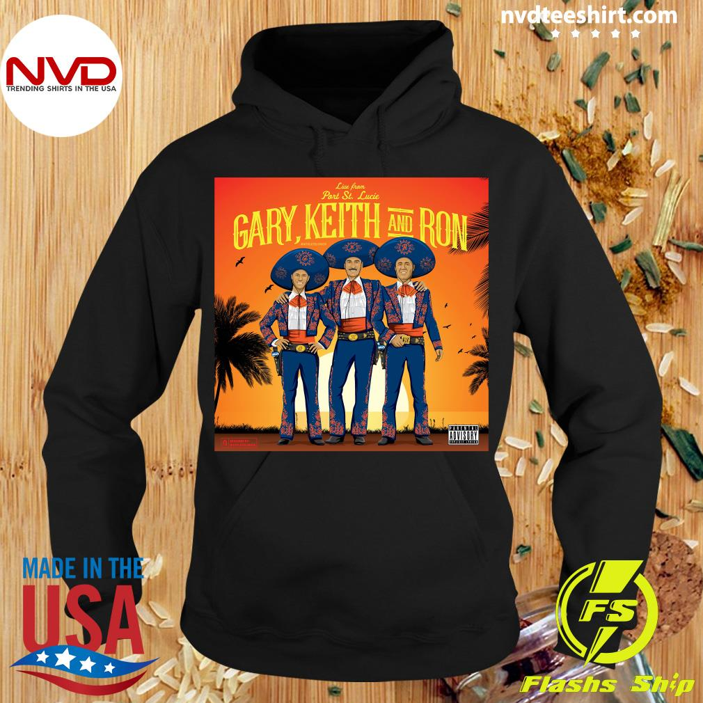 Official Athlete Live From Part St. Lucia Gary Keith And Ron Vintage T-s Hoodie