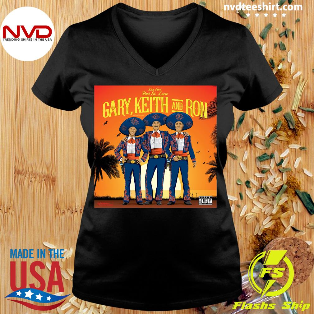 Official Athlete Live From Part St. Lucia Gary Keith And Ron Vintage T-s Ladies tee