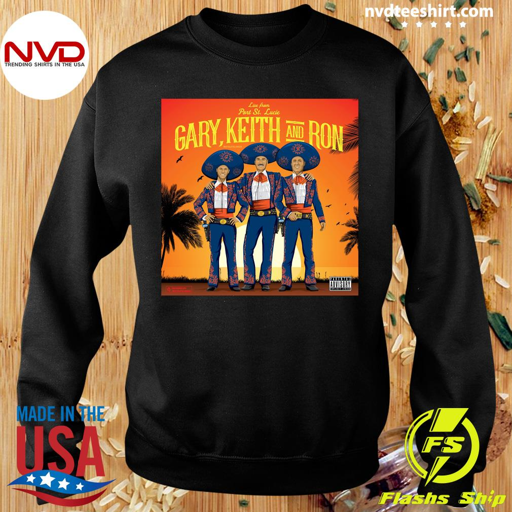 Official Athlete Live From Part St. Lucia Gary Keith And Ron Vintage T-s Sweater