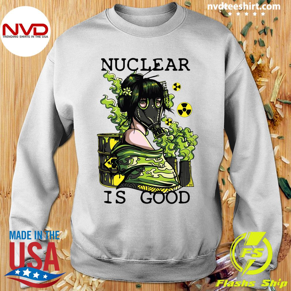 Official Coronavirus Nuclear Is Good T-s Sweater