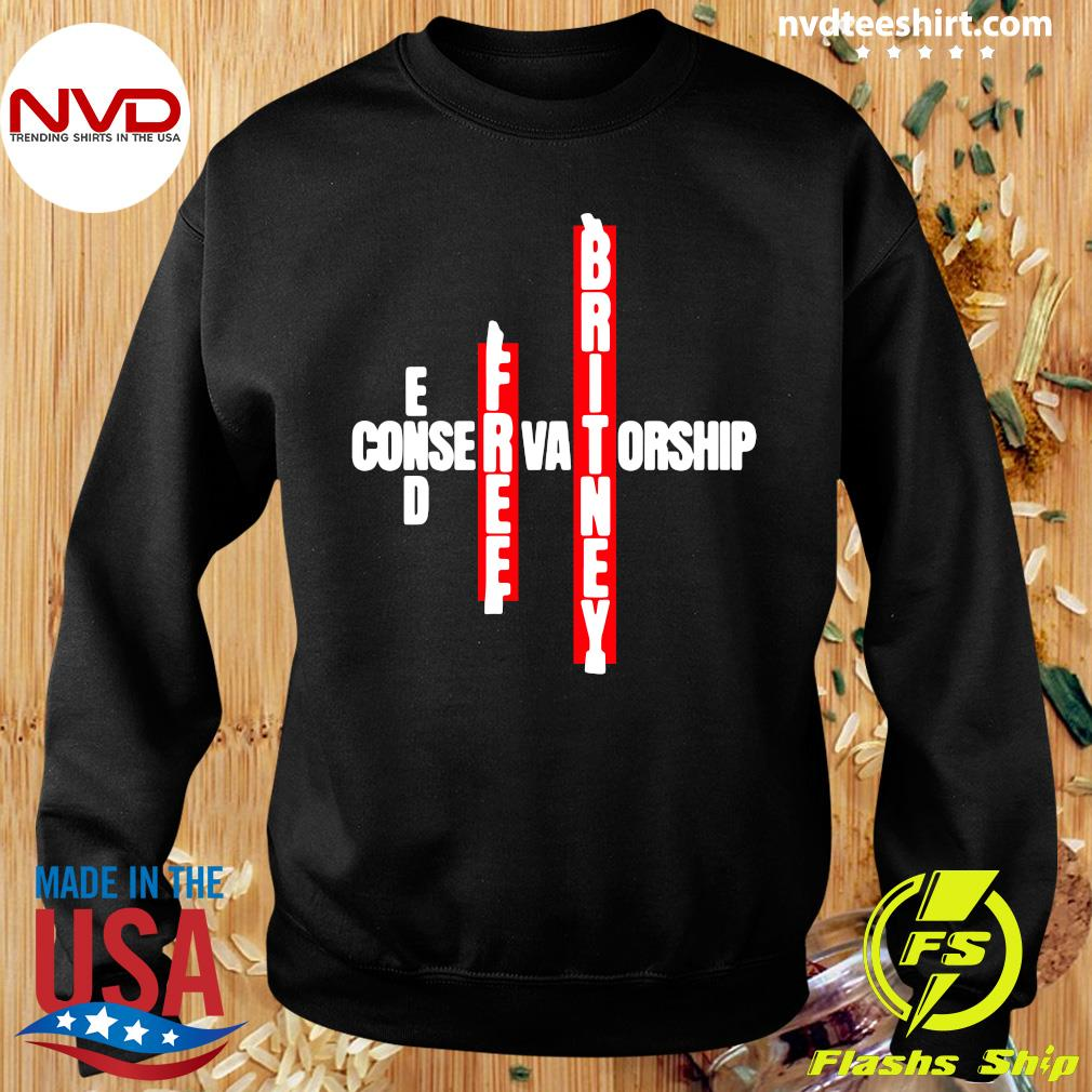 Official End Free Britney Conservatorship T-s Sweater