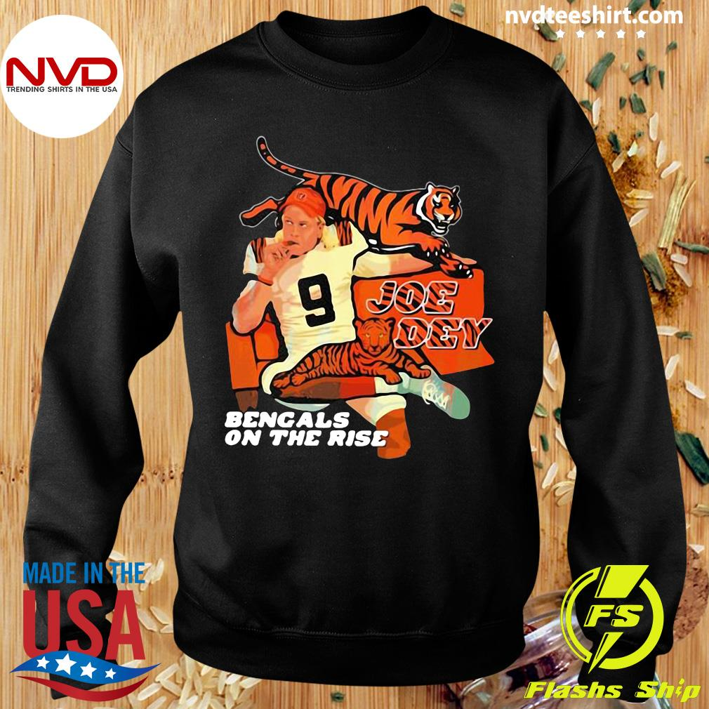 Official Joe Dey Bengals On The Rise Football T-s Sweater