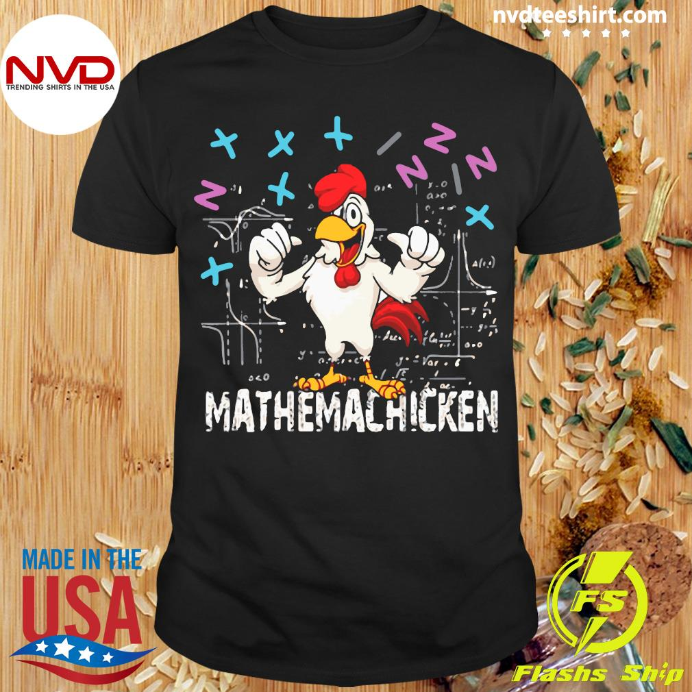 Official Mathema Chicken 20212 T-shirt